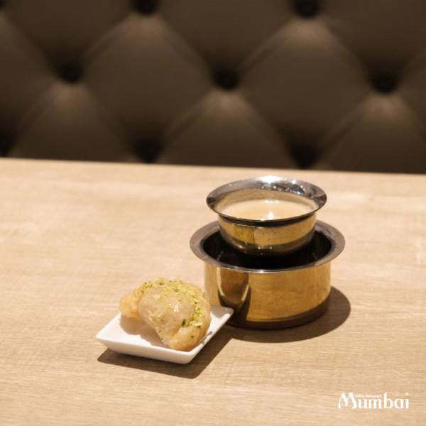 Gujiya + Madras Coffee
